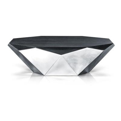 Designer Couchtisch Glas Prisma