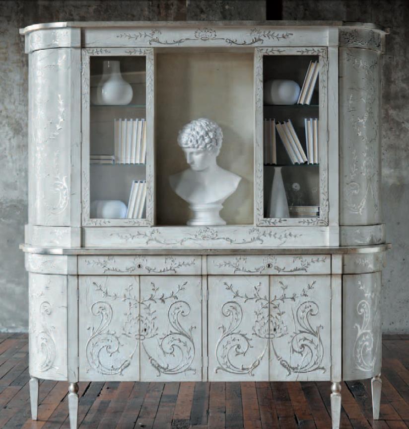 Книжный шкаф patina c21/lg/ht ferrara cabinet купить шкафы и.