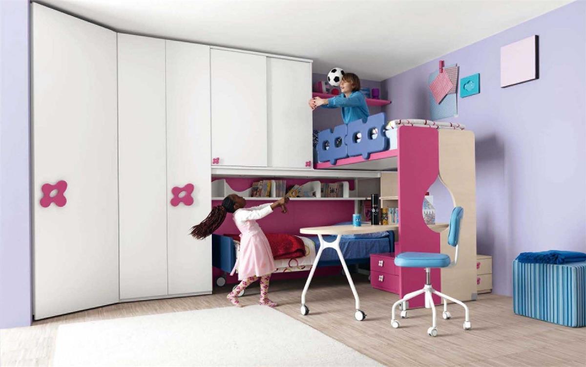 Bunte Kinderzimmermobel Ideen